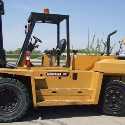 Cat c5000 forklift operators Manual