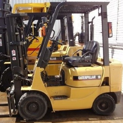 Cat V40b Forklift Service Manual