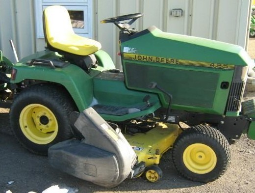 john deere 425 lawn tractor mower wiring schematics john deere 425 445 455 lawn garden tractor service repair manual  john deere 425 445 455 lawn garden