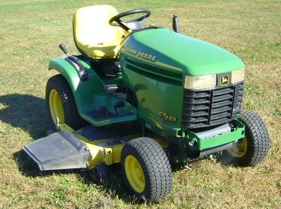 john deere gt225 gt235 gt235e gt245 lawn garden tractor service rh bobcatmanualonline com Homemade John Deere GT235 Hood John Deere GT235 Snow Blade