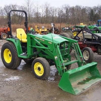 john deere 4210 4310 4410 compact utility tractor service repair rh bobcatmanualonline com john deere 4200 service manual download 2002 John Deere 4210