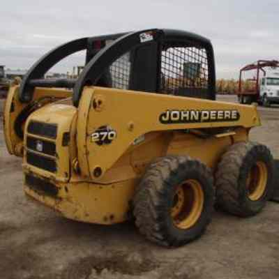 John Deere Skid Steer >> John Deere 260 270 Skid Steer Loader Service Repair Manual Service