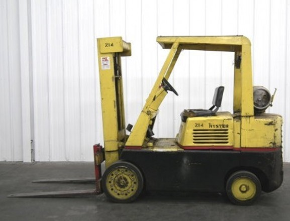 Hyster Forklift Manual Model 120