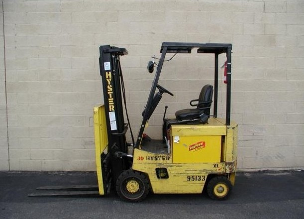 HYSTER C114 E25XL E30XL E35XL FORKLIFT 1 hyster c114 (e25xl e30xl e35xl) forklift service repair manual  at crackthecode.co