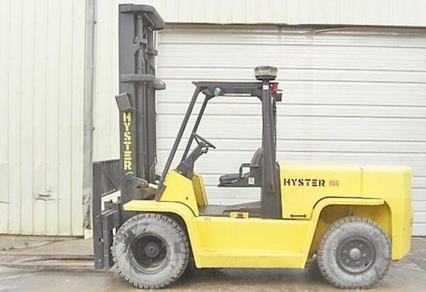 hyster g006 h135 155xl forklift service repair manual service rh bobcatmanualonline com Old Hyster Forklifts Hyster Forklift Models H
