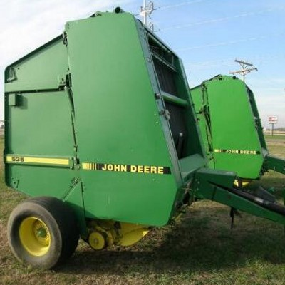 download complete technical & repair manual for john deere 335, 375, 385,  435 and 535 round balers