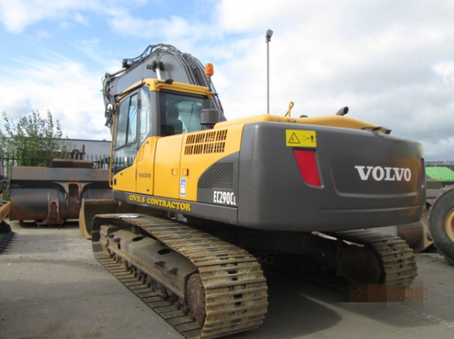 Volvo Ec290c L Ec290cl Excavator Service Repair Manual border=