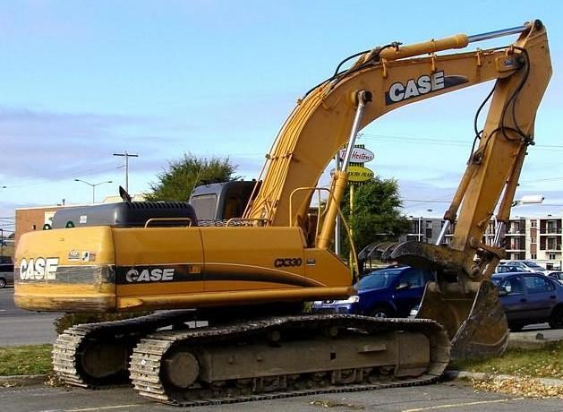Case cx330 excavator operation manual