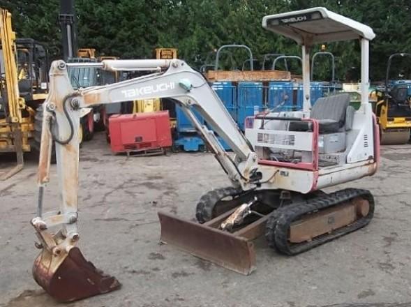 takeuchi tb020 compact excavator service repair manual. Black Bedroom Furniture Sets. Home Design Ideas
