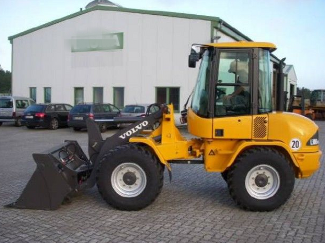 volvo l30b compact wheel loader service repair manual service rh bobcatmanualonline com Volvo Wheel Loader Volvo Front End Loader