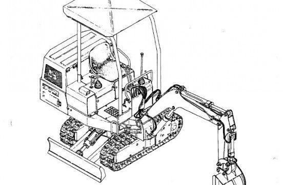 takeuchi tb35s compact excavator  engine  service parts